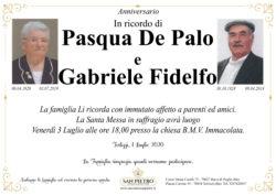 Pasqua e Gabriele Fidelfo
