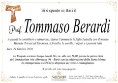Prof. Tommaso Berardi