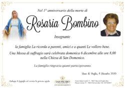 Ins. Rosaria Bombino