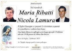 Maria Ribatti e Nicola Lamura