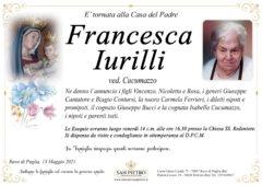 Francesca Iurilli ved. Cucumazzo
