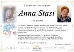 Anna Stasi ved. Riccardi