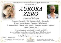 Aurora Zero ved. la Forgia