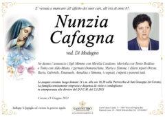 Nunzia Cafagna ved. Di Modugno